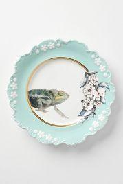 Natural World Plate, Chameleon