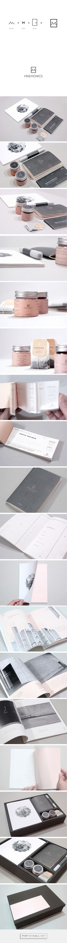MNEMONICS   BRANDING on Behance by Andy Lim curated by Packaging Diva PD. Branding packaging editorial design print design for an application to aid information retention.