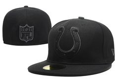 NFL Indianapolis Colts New Era Size Hats Fitted Cap
