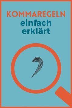 Lernen, Schule, bessere Noten, Nachhilfe, Zeichensetzung, Deutschunterricht, Deutsch in der Schule, Kommaregeln, Kommasetzung