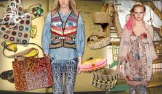 2. Uptown Gypsy: The summer collections are a romantic blend of exotic Spanish influences and gypsy-luxe cuts.