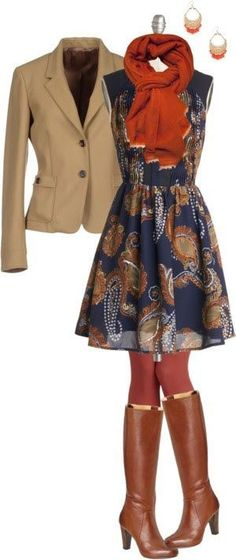 Boho at the Office 1 -1 Statement pattern -Solid muted colors to accent -Combination of stiff structure and soft flowy