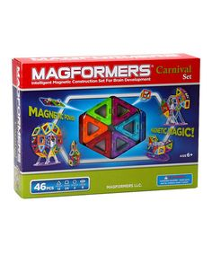 Another great find on #zulily! Carnival 46-Piece Magformers Set #zulilyfinds