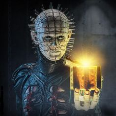 Cult Classics collection, Pinhead Premium FormatTM Figure from Clive Barker's Hellraiserfranchise #Figurines #collectibles #Statues #Figures #Hellraiser
