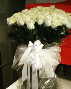 Prema posebnim željama - 71 ekvador bijela ruža.