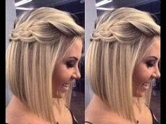 Wedding Hairstyles Half Up Half Down Half Up Half Down Braid Bridesmaid Hair - Picking a common theme like, braids is a great way to let everyone pick a hairstyle that fits their look. Check out these 8 stunning braided bridesmaid hair ideas below! Bride Hairstyles, Pretty Hairstyles, Easy Hairstyles, Medium Hairstyles, Pixie Hairstyles, Pixie Haircut, Hairstyles Haircuts, Hairstyle Ideas, Bridesmaids Hairstyles