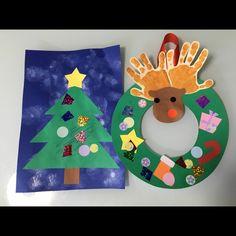Kids Christmas, Xmas, Hand Art, Christmas Activities, Art Projects, Kids Rugs, Disney, Crafts, Winter