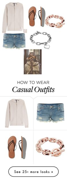 """Casual #58"" by kkmahony on Polyvore featuring Woolrich, True Religion, Abercrombie & Fitch and Michael Kors"