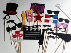 BEST Movie Photobooth Props  Hollywood Glamour by PAPERandPANCAKES, $50.00