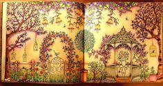 Yay finished it #johannabasford #secretgardenbyjohannabasford #adultcoloringbook