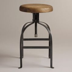 One of my favorite discoveries at WorldMarket.com: Twist Swivel Stool.    They're a great price but for me it's a splurge. Merry Christmas to myself!...and everyone who has had to sit on my falling apart barstools.