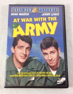 At War with The Army 1950 DVD 1st Film Dean Martin Jerry Lewis Polly Bergen 082554359322 | eBay