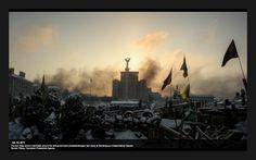 ЄвроМайдан  Kyiv  23/24 Jan.2014  ---It's a new dawn, it's a new day...