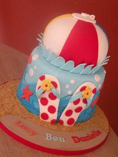Beach Ball Children's Cake