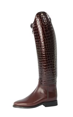 "Petrie Dressage Boots -- ""Elegance"" (Alligator)"