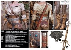The Witcher Cosplay Guide - Ciri - CD PROJEKT RED