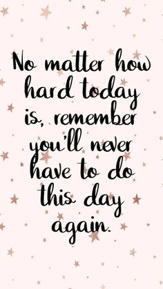 Hard days happen, take it in and grow through the process.
