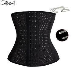 00a4b4aa68 DeRuiLaDy Fashion Slimming Body Shaper Corset Control Underbust Waist  Trainer Thin Solid Shapewear Belly Belt Waist Cinchers