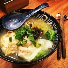 #wonton #noodles #noodlesoup #pakchoi #sprouts #fried #scallionoil #cilantro #chickensoup #thisiswhatieat #foodilysm #f52grams #nomnom #InstaYum #instafood #igfood #foodpic #food #colddayfood #homemade #homecooking #chezshin #chinesefood #chinese Wonton Noodles, Pak Choi, Noodle Soup, Chicken Soup, Chinese Food, Cilantro, Sprouts, Nom Nom, Homemade