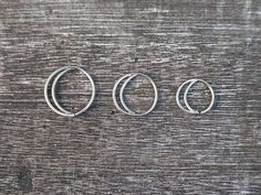 moon nose ring/earring - so cute!