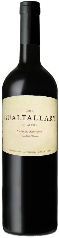 """""""Gualtallary"""" Cabernet Sauvignon 2012 - Bodega Altus, Tupungato, Mendoza-------------------------Terroir: 16 meses en barricas de roble francés nuevas"""