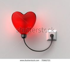 Image detail for -Red Heart-Lamp Stock Photo 70962721 : Shutterstock