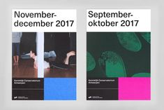 The Academy of Fine Arts Antwerp and the Royal Conservatoire Antwerp by Vrints-Kolsteren — The Brand Identity Graphic Design Studios, Graphic Design Posters, Graphic Design Typography, Graphic Design Inspiration, Branding Design, Web Design, Layout Design, Print Design, September