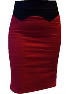 "Women's ""Dolly"" Western Skirt by Switchblade Stiletto (Red) #InkedShop #skirt #style #fashion #womenswear"