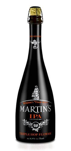 Het speciaalbier Martin's IPA van brouwerij Martin's kreeg als enige speciaalbier 3 gouden sterren van het International Taste & Quality Institute (iTQi). juni 2014
