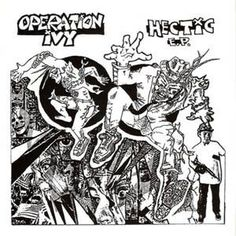 Operation Ivy - Hectic E.P. (EP)