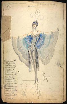 American Costume Designer Charles LeMaire (1897–1985).