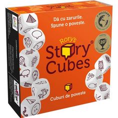 Buy Rory's Story Cubes Game from our View All Games & Puzzles range at John Lewis & Partners. Story Cubes, Cube Games, All Games, Improve Vocabulary, Life Journal, Problem Solving Skills, List Template, Icebreaker, Creative Thinking
