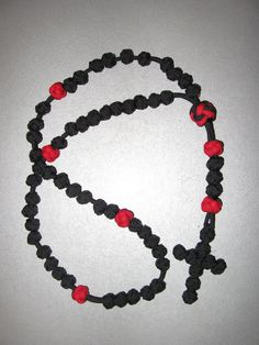 Paracord rosary #paracord #rosary #550cord