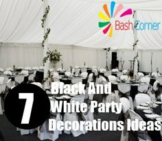 75 Most Popular Black White Decorating Ideas For Party Zachary Kristen