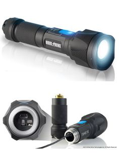 Heavy duty tactical flashlight with built in camera. Tactical Survival, Survival Tools, Camping Survival, Tactical Gear, Technology Gadgets, Tech Gadgets, Cool Gadgets, Bushcraft, Radios