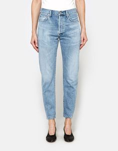 76cb78ca Citizens of Humanity Liya High Rise Classic Fit Jeans in Sunday Morning Jeans  Fit, Mom