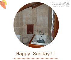 Feliz #domingo....Ideal para disfrutar de nuestro #baño! Un placer relajarse, olvidarse del #estrés, de las prisas y dedicar un rato a mimar nuestro cuerpo. ¡¡Si lo pruebas seguro que repites!! http://casadoroble.com/  #Casarural #camino #caminodeSantiago #CaminodelNorte #CasadoRoble #Lugo #Galicia #Guitiriz #sunday #happysunday #escapada #Diciembre #findesemana #turismorural #hollidays #relax #peregrino #naturaleza #paz #bosque #descanso — en Casa do Roble.