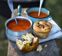 Creamy tomato soup from BBC Good Food, this looks really good!!!