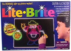 Lite Bright - still one of the best toys ever.