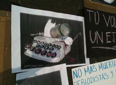México: Aparece lista de periodistas que podrían ser ejecutados
