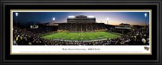 Wake Forest University Demon Deacons - BB Field Panorama $199.95