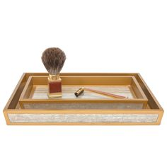 Pigeon & Poodle Waterford Gold Tray Set #laylagrayce