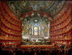 Pannini Giovanni Paolo - Festa Musicale. 1747