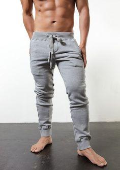 grey jersey post workout gym pants | Il MIO MODA: My Style