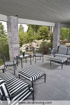The inner courtyard or patio is a place for various activities. But it mostly serves as a relaxation zone where we can rest undisturbed and is a natural transition to other, different parts of the garden.When designing the outdoor patio, an important moment in the preparation phase is the choice of the material with which you want to cover your courtyard. #OutdoorPatio #PatioIdeas #SmallPatioIdeas #PatioOnaBudget #OutdoorPatioWithChairs