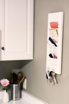 shutter ..mail holder...Like this idea