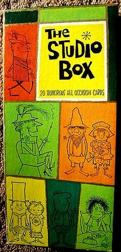 The Studio Box vintage greeting cards 1960s   Flickr - Photo Sharing!