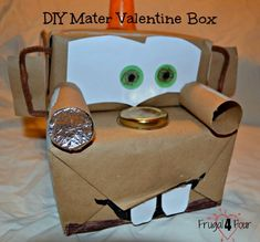 Awesome Valentine Card Boxes Boys will Love Classroom card