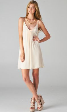 Chiffon Low Back Romance Dress