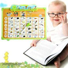 Cungmua - Bảng điện tử thông minh Anh - Việt 7 trong 1 không những giúp nâng cao khả năng tư duy và ghi nhớ cho bé mà còn rèn luyện cho bé kỹ năng nhận biết các con vật qua hình minh họa. Chỉ 155.000đ cho trị giá 250.000đ.
